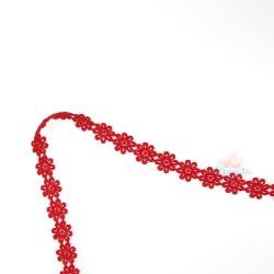 1031 Small Chemical Prada Lace Red - 1 Meter