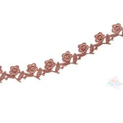 1032 Small Chemical Prada Lace Brown - 1 Meter