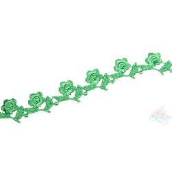 1032 Small Chemical Prada Lace Green - 1 Meter