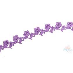 1032 Small Chemical Prada Lace Light Purple - 1 Meter
