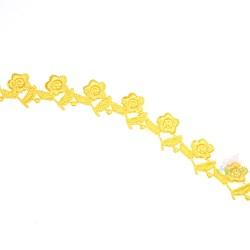 1032 Small Chemical Prada Lace Yellow - 1 Meter