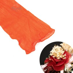 Stocking Cloth for DIY Flower - Bright Orange 1 piece