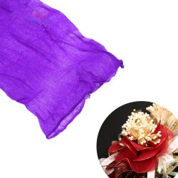 Stocking Cloth for DIY Flower - Bright Purple 1 piece