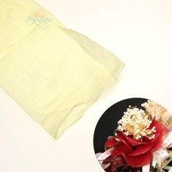 Stocking Cloth for DIY Flower - Cream 1 piece
