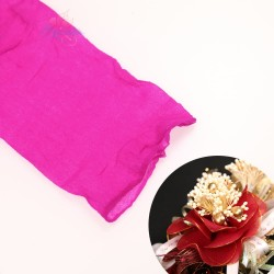 Stocking Cloth for DIY Flower - Deep Hot Pink 1 piece