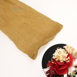 Stocking Cloth for DIY Flower - Gold 1 piece