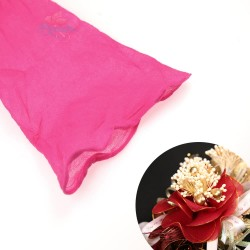 Stocking Cloth for DIY Flower - Hot Pink 1 piece