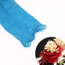 Stocking Cloth for DIY Flower - Ocean Blue 1 piece