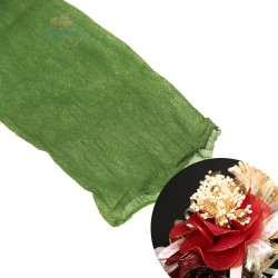 Stocking Cloth for DIY Flower - Olive Green 1 piece