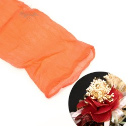 Stocking Cloth for DIY Flower - Orange 1 piece