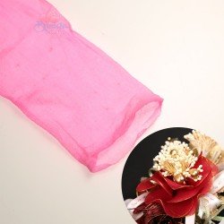 Stocking Cloth for DIY Flower - Pink 1 piece