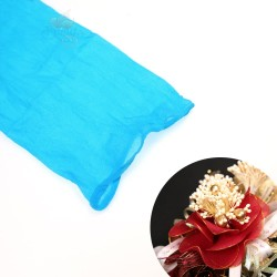Stocking Cloth for DIY Flower - Pool Blue 1 piece