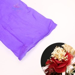 Stocking Cloth for DIY Flower - Purple 1 piece