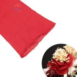 Stocking Cloth for DIY Flower - Red 1 piece