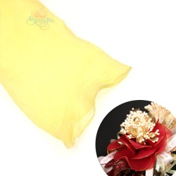 Stocking Cloth for DIY Flower - Yellow 1 piece