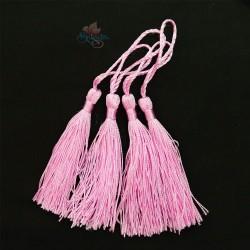 #066 Cotton Tassel 8cm - Light Pink (4pcs)