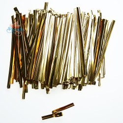 Gold Foil Twist Tie - 370pcs/pack