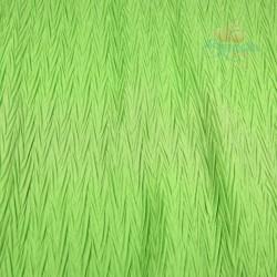 Polisilk Zig Zag Pleated 60 inch - Grass Green 827