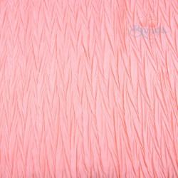 Polisilk Zig Zag Pleated 60 inch - Soft Pink 892